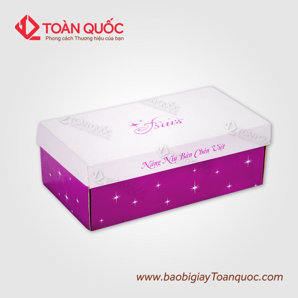 hopgiaydunggiaydepredep, hộp giấy đựng giày dép rẻ đẹp