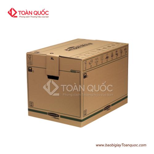 Làm thùng carton đựng 30kg chanh dây, lamthungcartondung30kgchanhday